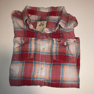 Hollister Ladies button down shirt